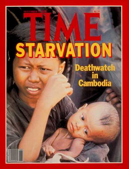 Time - Starvation in Cambodia - Nov. 12, 1979 - Cambodia - Health & Medicine - Hunger