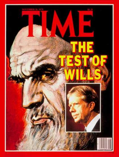 Time - Ayatullah Khomeini and Jimmy Carter - Nov. 26, 1979 - Ayatullah Khomeini - Jimmy
