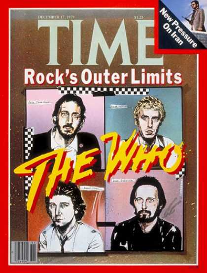 Time - The Who - Dec. 17, 1979 - Rock - Singers - Most Popular - Music