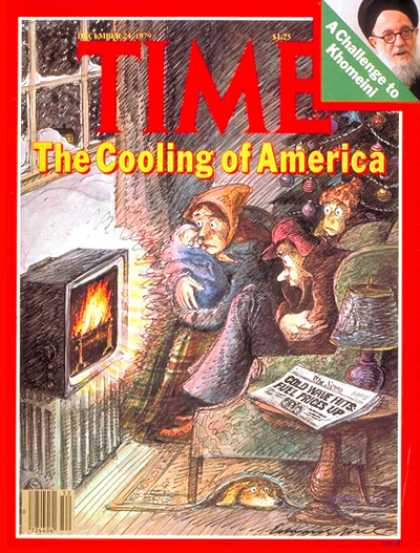 Time - Shivering America - Dec. 24, 1979 - Oil - Energy