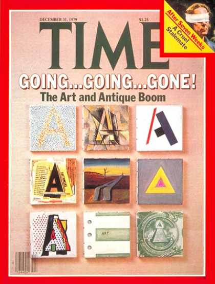 Time - Art and Antiques Boom - Dec. 31, 1979 - Art