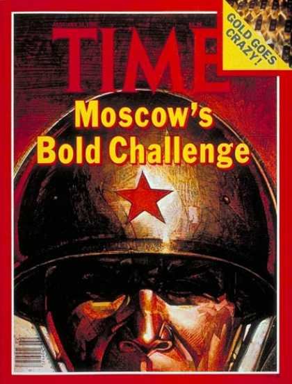 Time - Moscow's Challenge - Jan. 14, 1980 - Russia - Communism