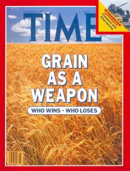 Time - Grain Embargo - Jan. 21, 1980 - Trade - Economy