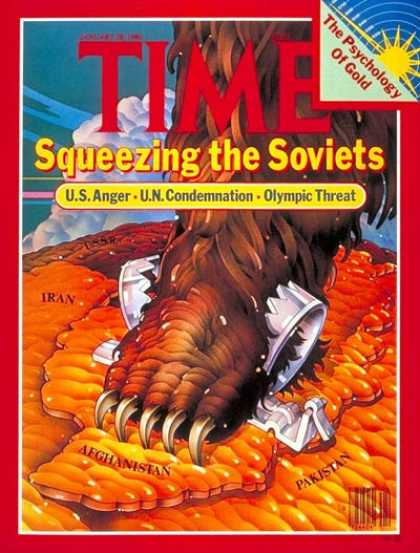 Time - Squeezing the Soviets - Jan. 28, 1980 - Russia - Communism - Economy