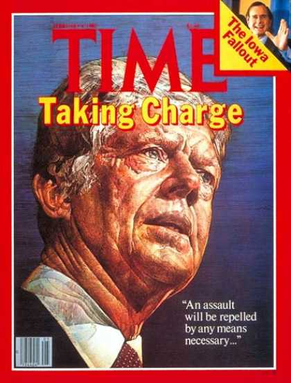 Time - Jimmy Carter - Feb. 4, 1980 - U.S. Presidents - Politics