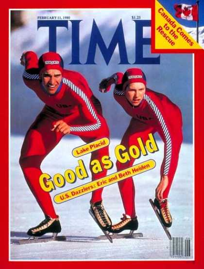 Time - Olympic Skaters - Feb. 11, 1980 - Olympics - Women - Sports