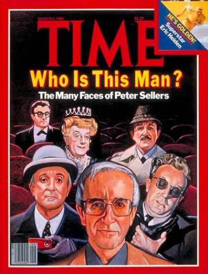 Time - Peter Sellers - Mar. 3, 1980 - Actors - Movies