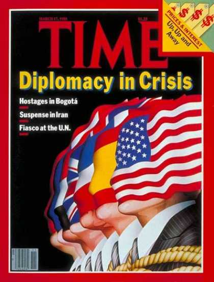Time - U.S. Diplomacy - Mar. 17, 1980 - Politics - Diplomacy - American Flag