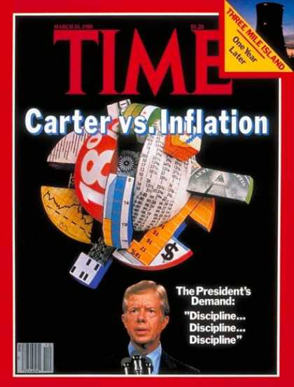 Time - Carter and Inflation - Mar. 24, 1980 - Jimmy Carter - U.S. Presidents - Economy