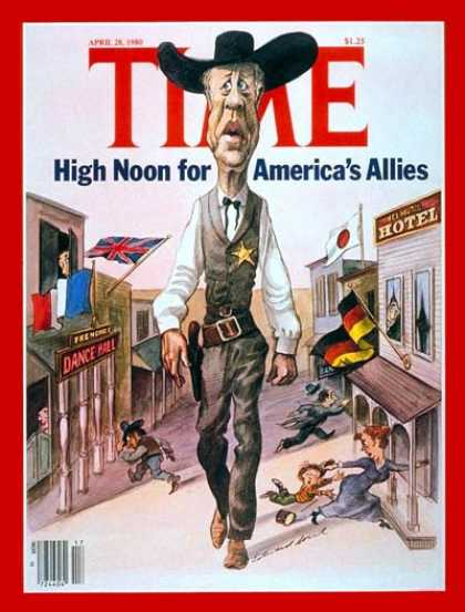 Time - The Alliance - Apr. 28, 1980 - NATO