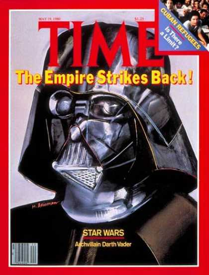 Time - Star Wars - May 19, 1980 - Darth Vader - Most Popular - Science Fiction
