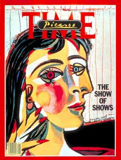 Time - The Picasso Show - May 26, 1980 - Painters - Art