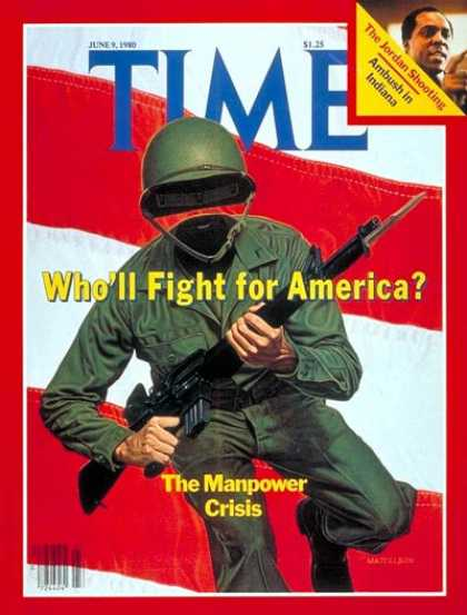 Time - Military Manpower - June 9, 1980 - Military