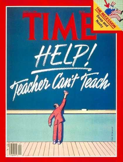 Time - Teachers - June 16, 1980 - Education
