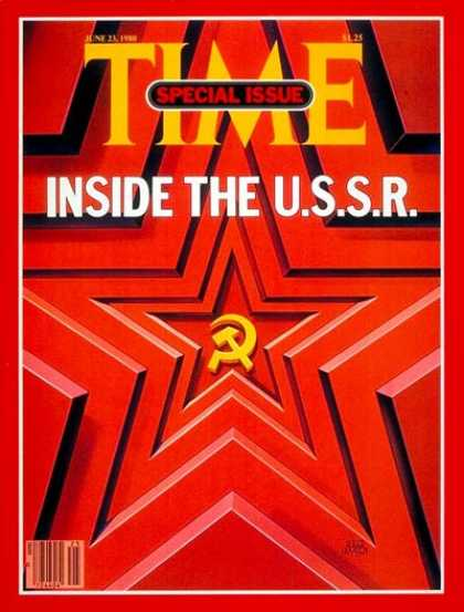 Time - Inside the U.S.S.R. - June 23, 1980 - Russia - Communism
