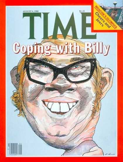 Time - Billy Carter - Aug. 4, 1980 - Olympics - Scandals