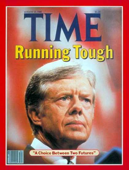 Time - Nominee Carter - Aug. 25, 1980 - Jimmy Carter - Presidential Elections - Politic