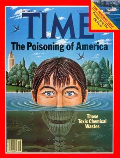 Time - Toxic Waste - Sep. 22, 1980 - Pollution - Environment
