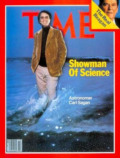 Time - Carl Sagan - Oct. 20, 1980 - Astronomy - Space Exploration - Science & Technolog