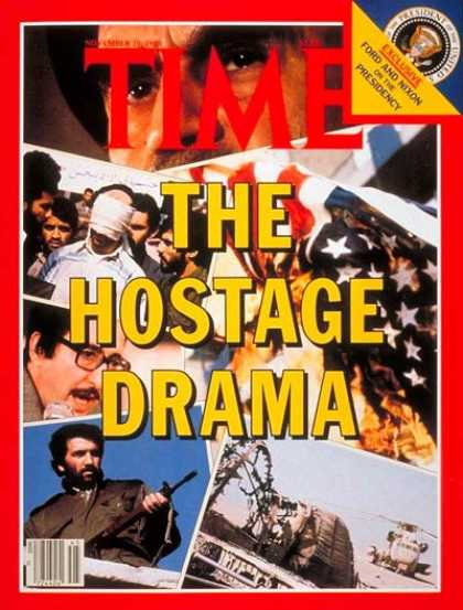 Time - Hostage Drama - Nov. 10, 1980 - Iran - Terrorism - Middle East