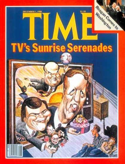 Time - Morning TV - Dec. 1, 1980 - Television - Talk Shows - Broadcasting - TV News