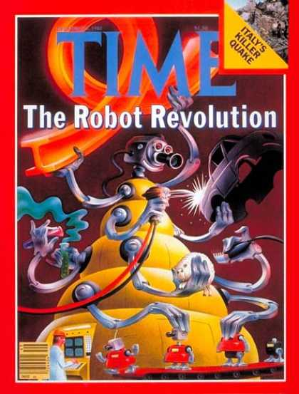 Time - Robot Revolution - Dec. 8, 1980 - Science & Technology - Business - Innovation -