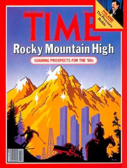 Time - Rocky Mountain High - Dec. 15, 1980 - Business - Economy