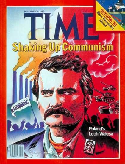 Time - Lech Walesa - Dec. 29, 1980 - Poland - Communism - Revolutionaries