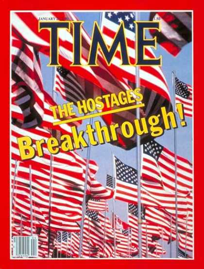 Time - Hostage Breakthrough - Jan. 26, 1981 - Iran - Terrorism - Hostages - Middle East