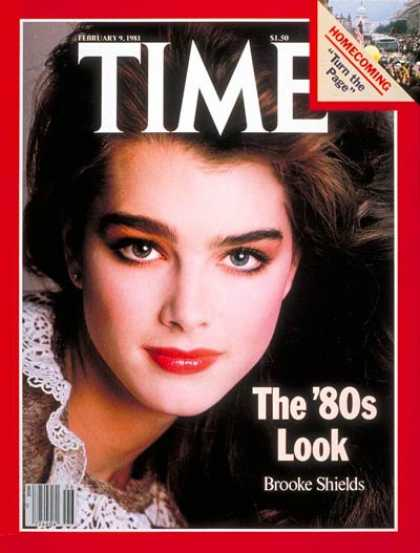 Time - Brooke Shields - Feb. 9, 1981 - Models - Movies - Actresses