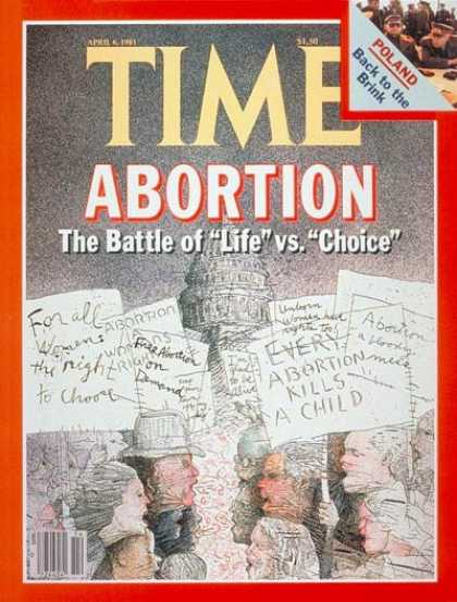 Time - Abortion - Apr. 6, 1981 - Social Issues - Law