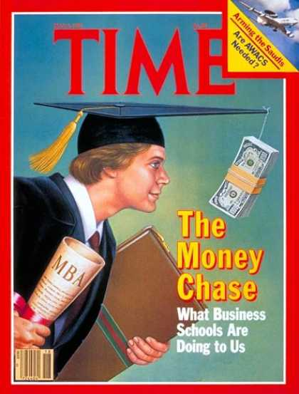 Time - Business Schools - May 4, 1981 - Schools - Education