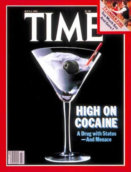 Time - Cocaine - July 6, 1981 - Crime - Drug Abuse - Society - Health & Medicine