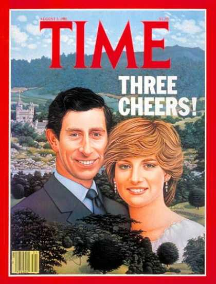Time - Prince Charles and Princess Diana - Aug. 3, 1981 - Prince Charles - Princess Dia