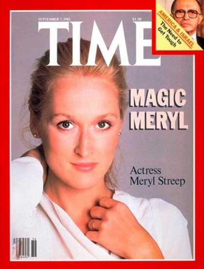 Time - Meryl Streep - Sep. 7, 1981 - Actresses - Movies