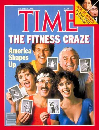 Time - The Fitness Craze - Nov. 2, 1981 - Food - Diets - Fitness - Health & Medicine