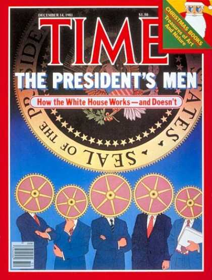 Time - President's Men - Dec. 14, 1981 - Politics