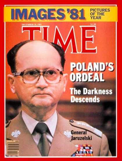 Time - General Jaruzelski - Dec. 28, 1981 - Poland - Generals