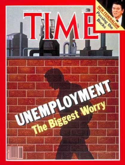 Time - Unemployment - Feb. 8, 1982 - Labor & Employment