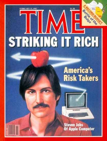 Time - Risk Takers - Feb. 15, 1982 - Science & Technology - Computers - Apple - Busines