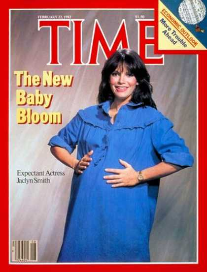 Time - Jaclyn Smith and the Baby Boom - Feb. 22, 1982 - Family - Parenting - Health & M