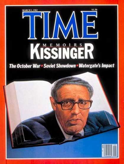 Time - Henry Kissinger - Mar. 1, 1982 - Diplomacy