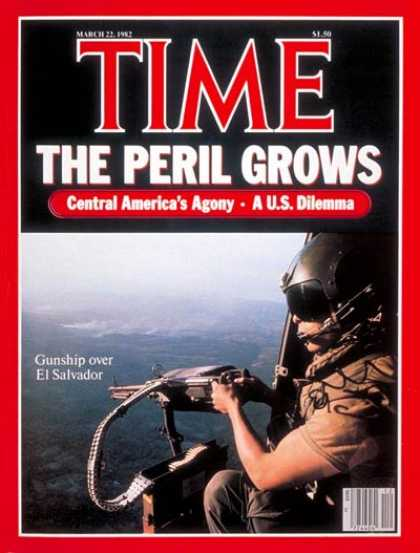 Time - Central America - Mar. 22, 1982 - Latin America