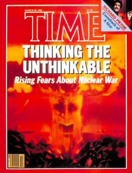 Time - Nuclear War - Mar. 29, 1982 - Weapons - Military
