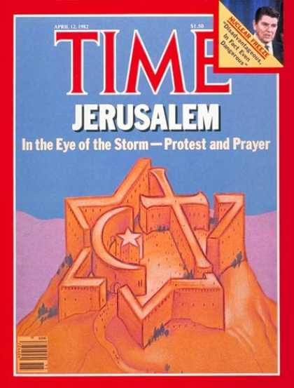 Time - Jerusalem - Apr. 12, 1982 - Judaism - Islam - Christianity - Religion - Palestin