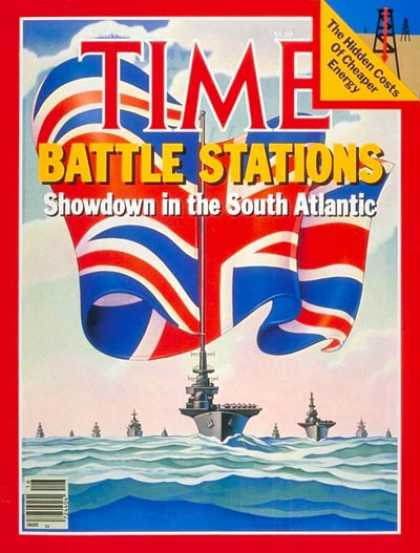 Time - Falklands Crisis - Apr. 19, 1982 - Falklands - Argentina - Great Britain