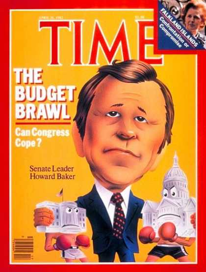 Time - Senator Howard Baker - Apr. 26, 1982 - Congress - Senators - Politics
