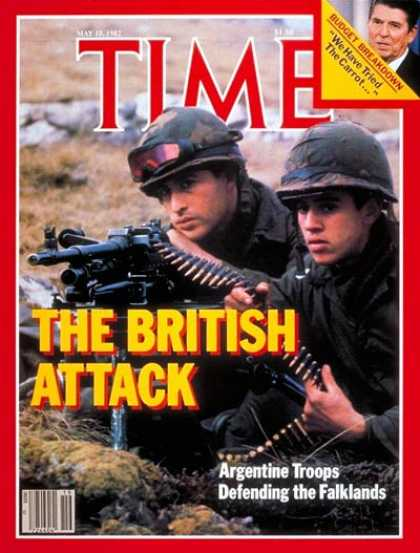 Time - Falklands War - May 10, 1982 - Falklands - Argentina - Great Britain