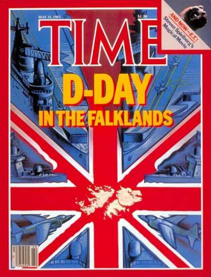 Time - Falklands D-Day - May 31, 1982 - Falklands - Argentina - Great Britain