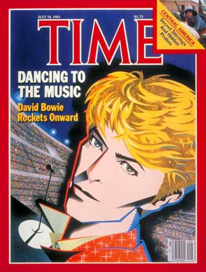Time - David Bowie - July 18, 1983 - Rock - Singers - Most Popular - Music